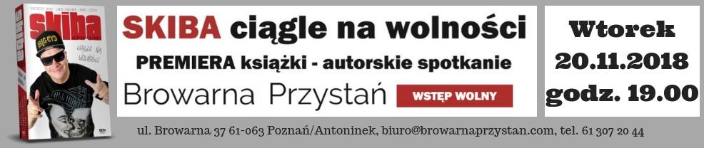 Skiba ciągle na wolności Premiera Książki