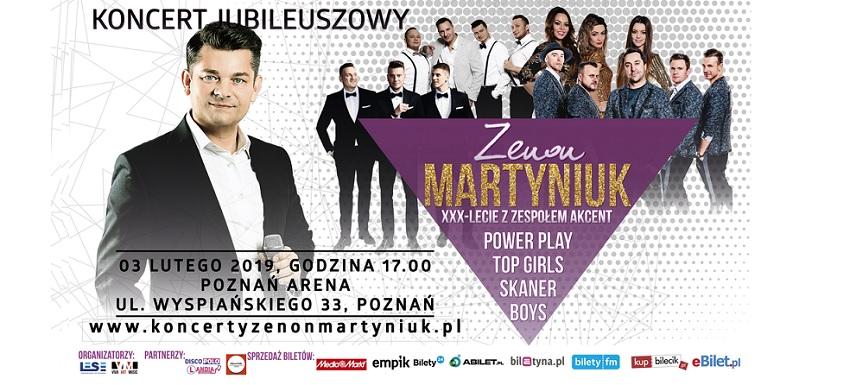 Zenon Martyniuk w Poznaniu!
